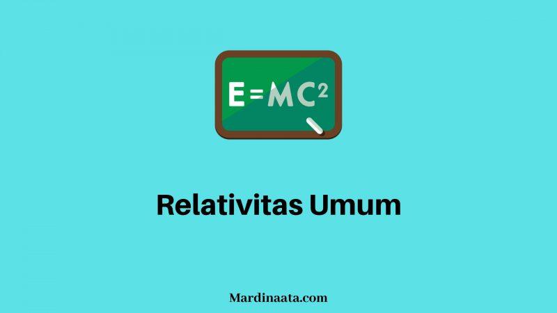Relativitas Umum